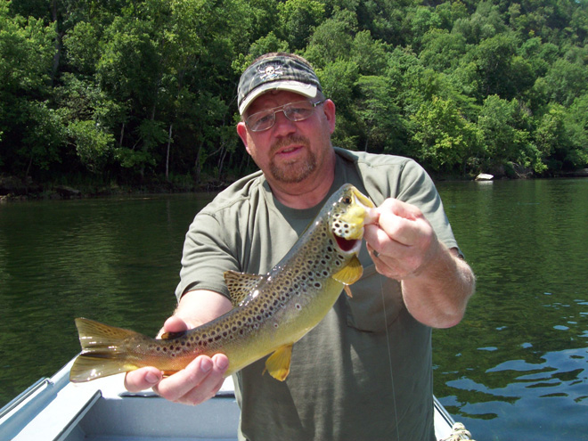 Trout Fishing Limits in and near White River Missouri