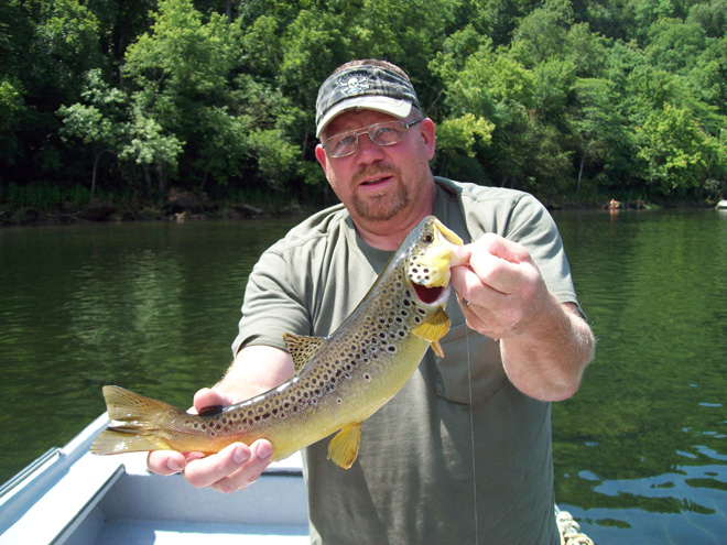 Trout Spin Fishing in and near White River Missouri